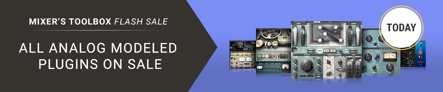 TODAY - Analog Modeled Plugins Flash Sale