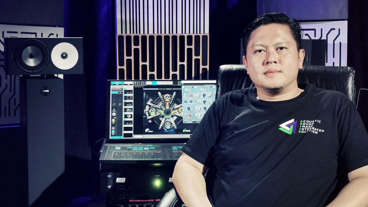 Andy Mulya Sutikno, Production Director/Mixing Engineer and Owner and Director of PT. ASIIS Indonesia