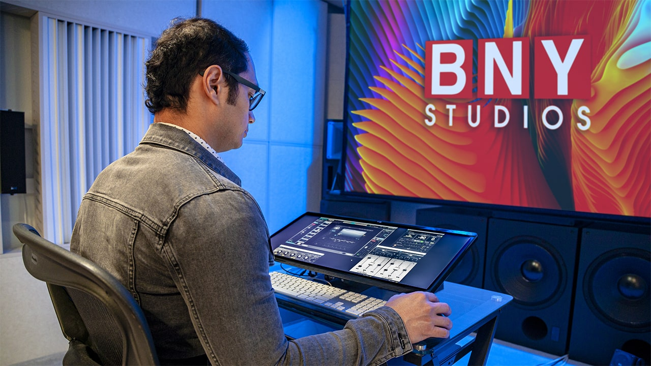 """Vocal Rider is among our top plugins to use with the LV1"": The LV1 at BNY's control studio"