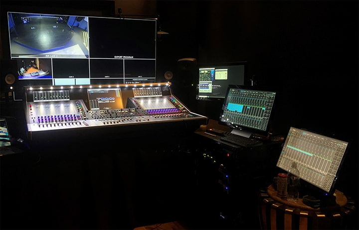 Passion City Church's DiGiCo + Waves SuperRack broadcast setup