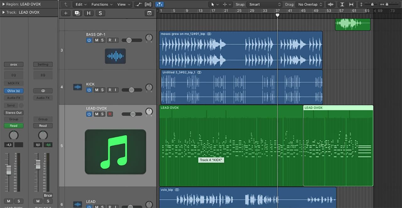 Composing a Song with Waves OVox: Penelope Antena