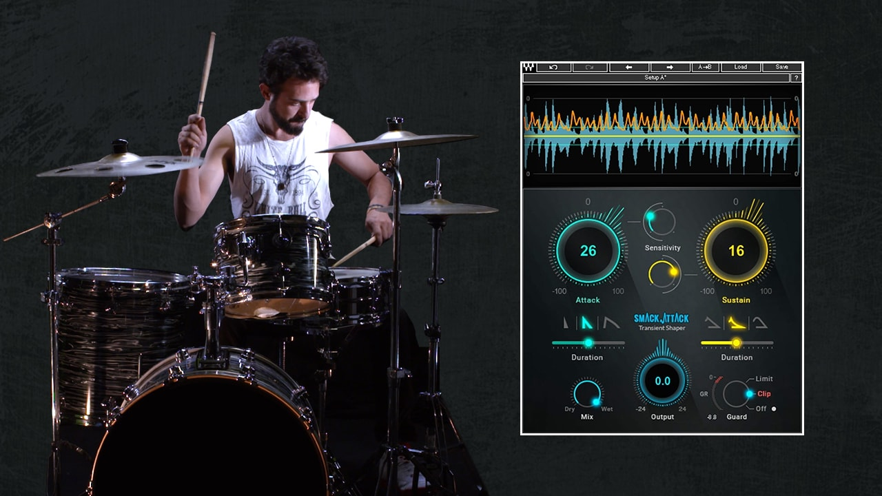 6 Tips for Shaping Drum Transients | Waves