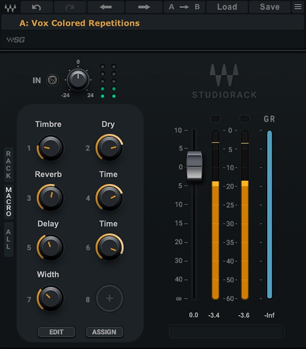 Vox Colored Repetitions – StudioRack Chain