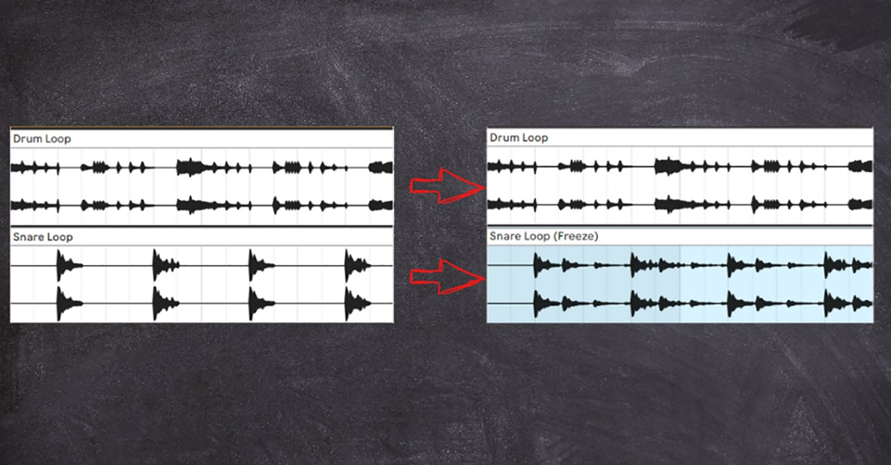 Compare the examples below but notice how even the waveforms illustrate that you're getting more syncopation from fewer layers