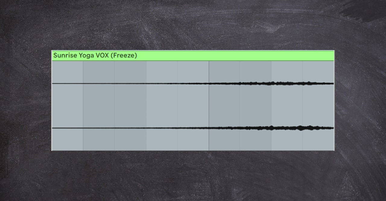 Reversing is an amazing creative tool to create interesting textures and movement from any source sound