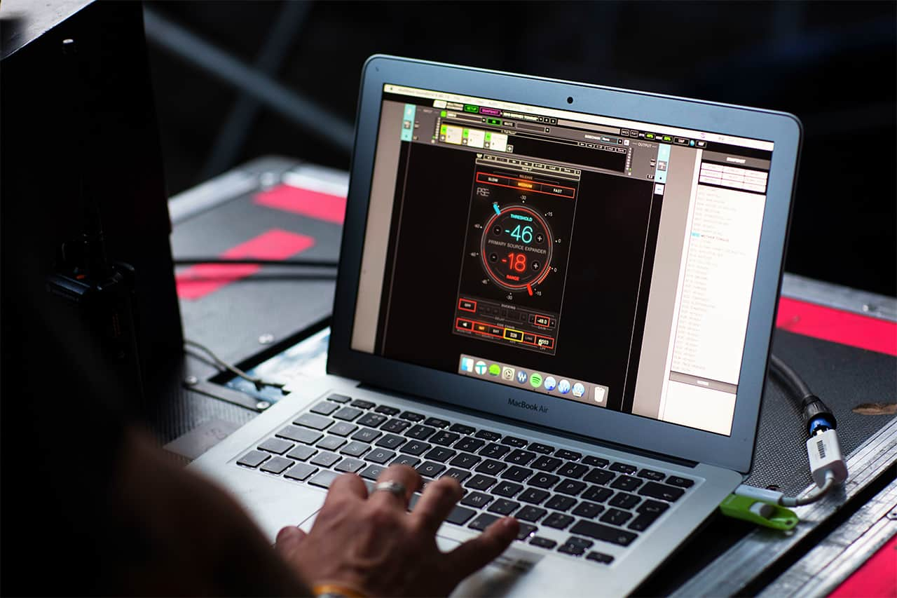 Phil Gornell uses PSE for multiple stages of gating on drums