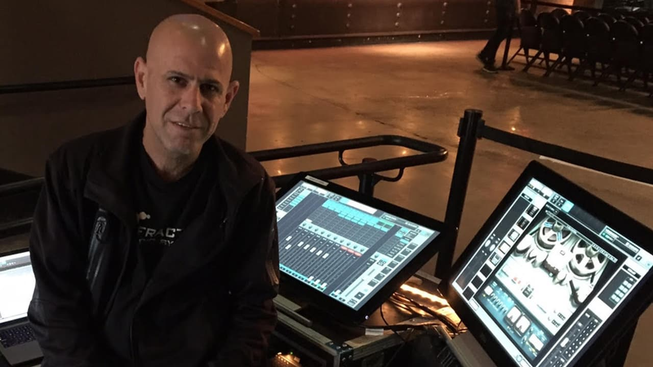 Eran Ben Zur at FOH with the LV1 running Scheps Omni Channel