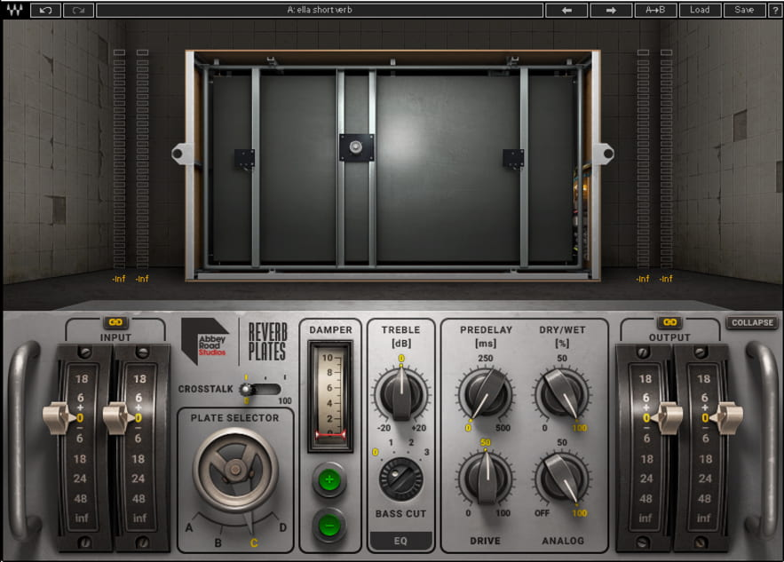 """I use the Abbey Road Reverb Plates for short reverbs to reinforce tonality and for depth."""