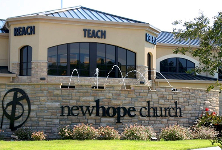 New Hope Church's campus in Durham, NC