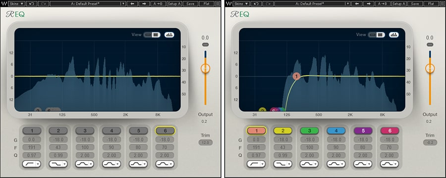 Waves Renaissance EQ (pictured) can reduce the level of annoying, low-frequency pops
