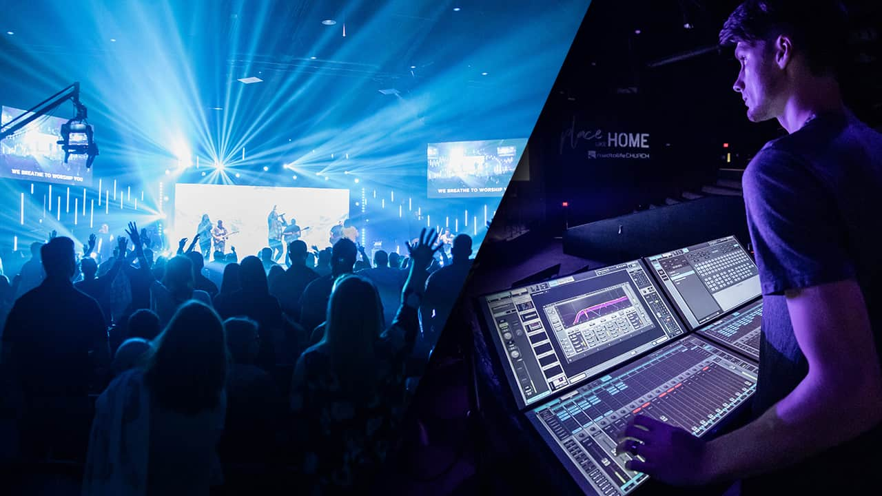 Road to Life Church Chooses eMotion LV1 Mixer for FOH