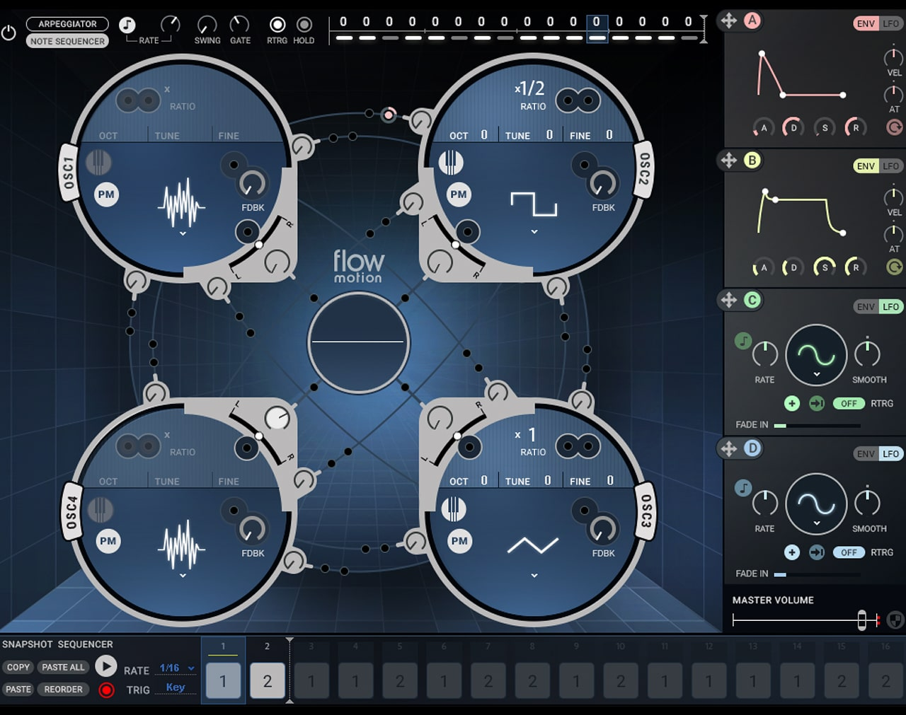 Flow Motion Synth