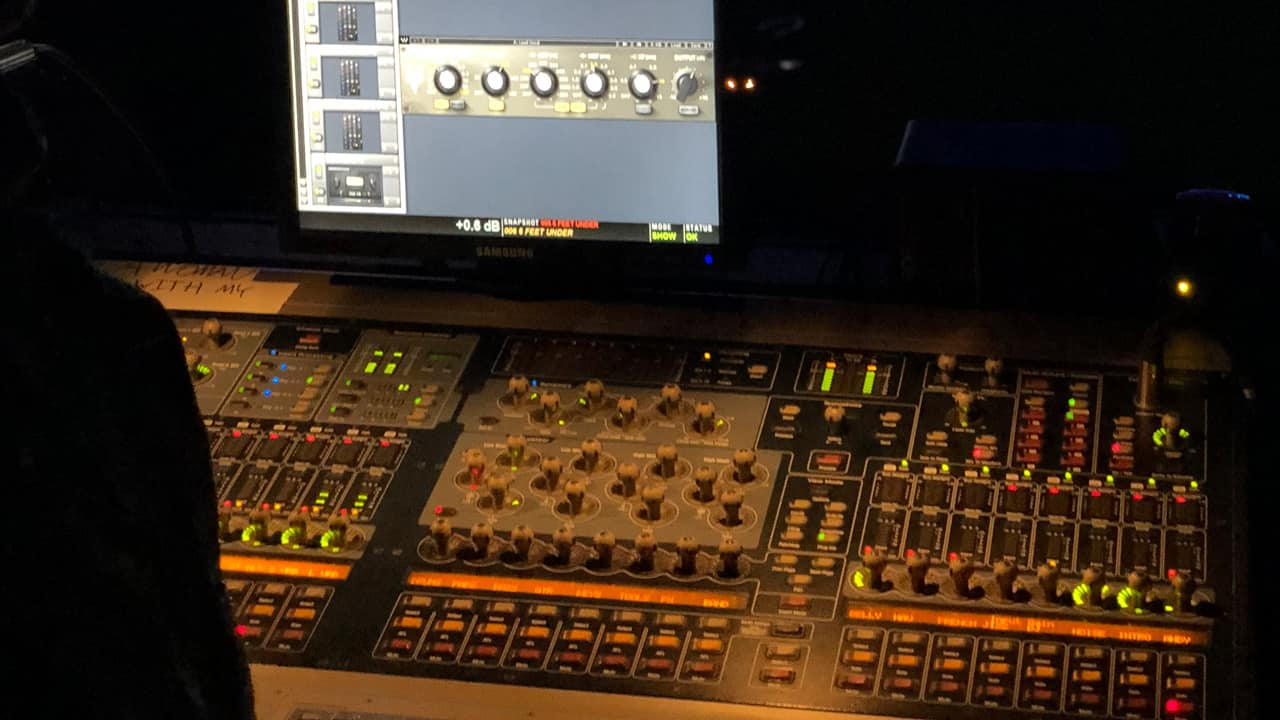 "FOH Derek Brener: ""V-EQ4's EQ points suit The Weeknd's vocal timbre"""