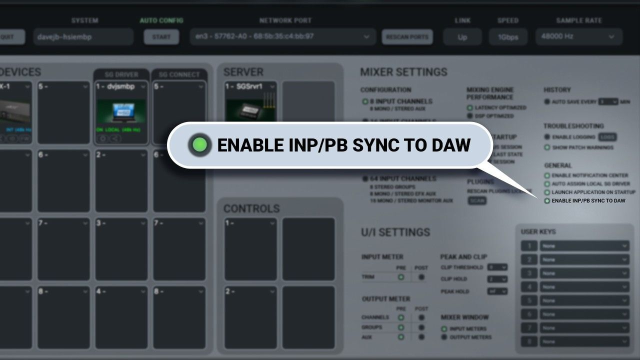 SoundGrid Studio Adds Monitoring Sync for REAPER and Bitwig