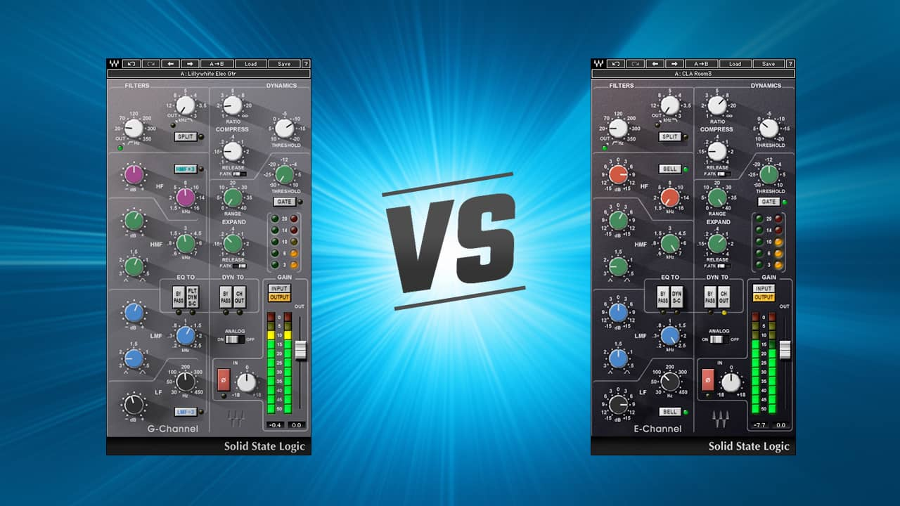 SSL E-Channel or G-Channel?