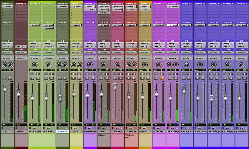 It's helpful to think of your mix as having three dimensions.