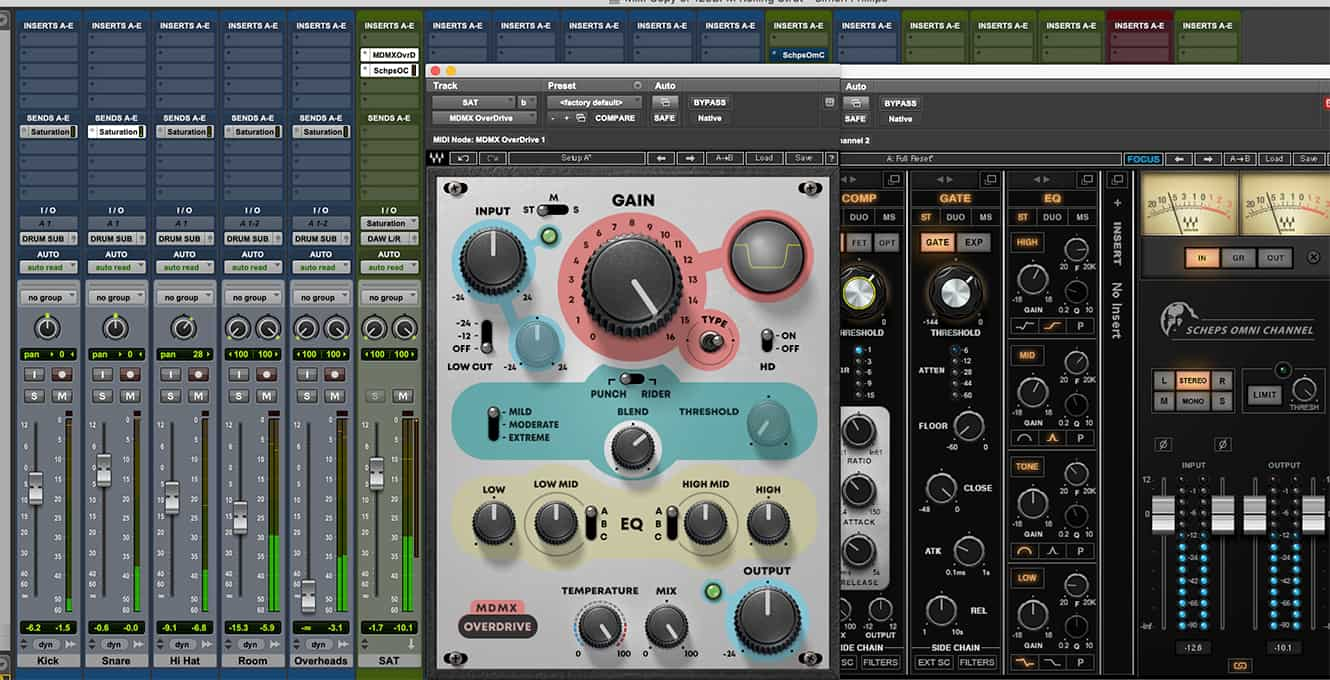 For additional control or to modify the distortion effect, use other plugins before or after it.
