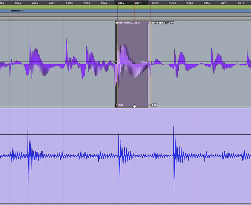 fix timing by moving individual notes or drum hits manually