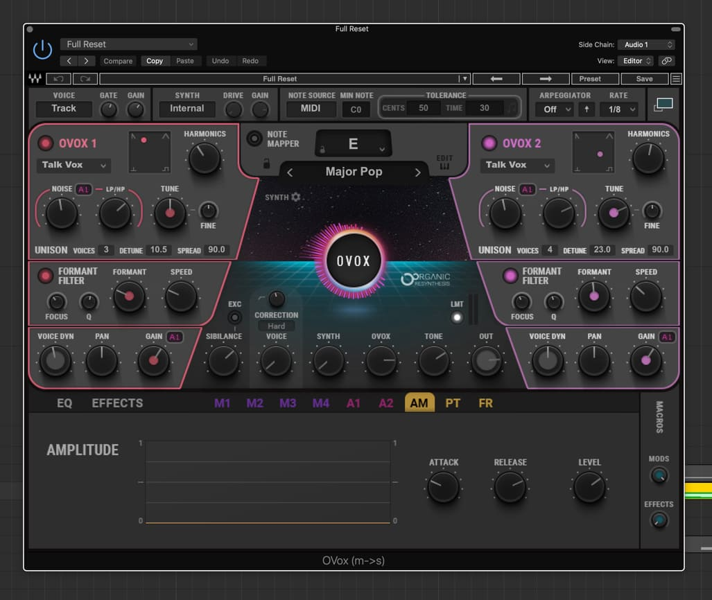 Blu2th's setting for OVox Vocal ReSynthesis