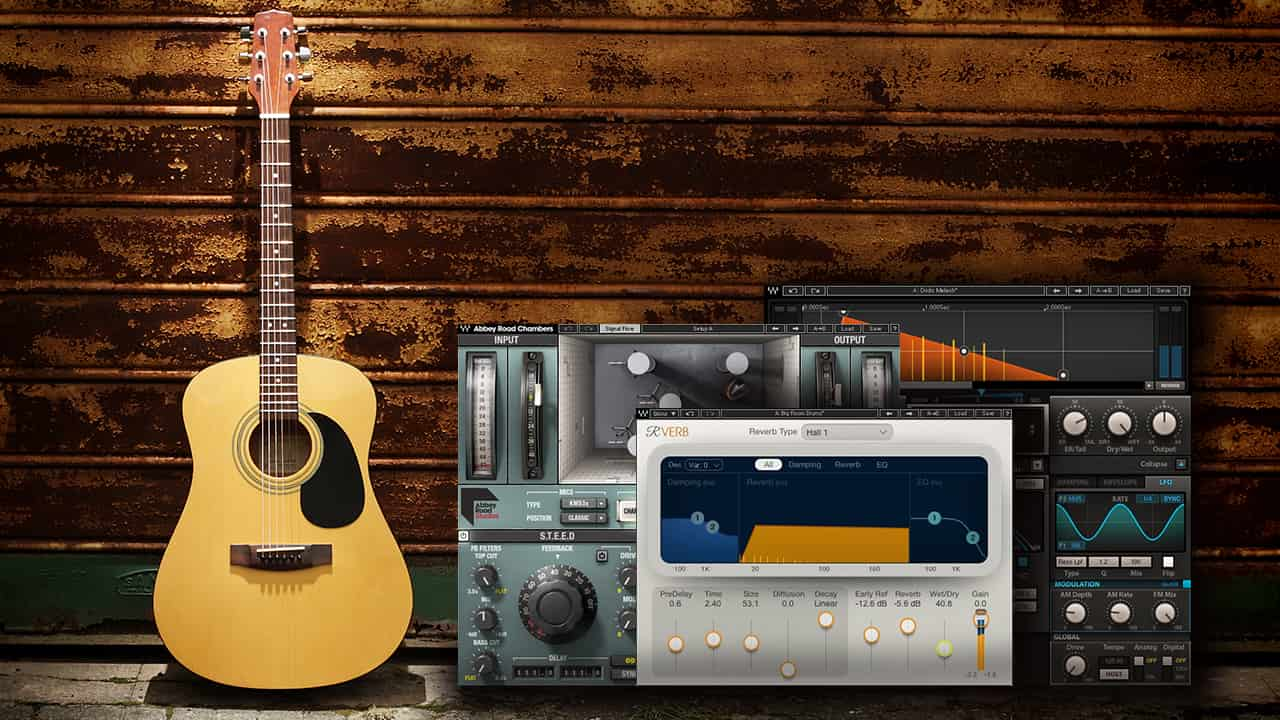 4 Tips for Using Reverb on Acoustic Guitar