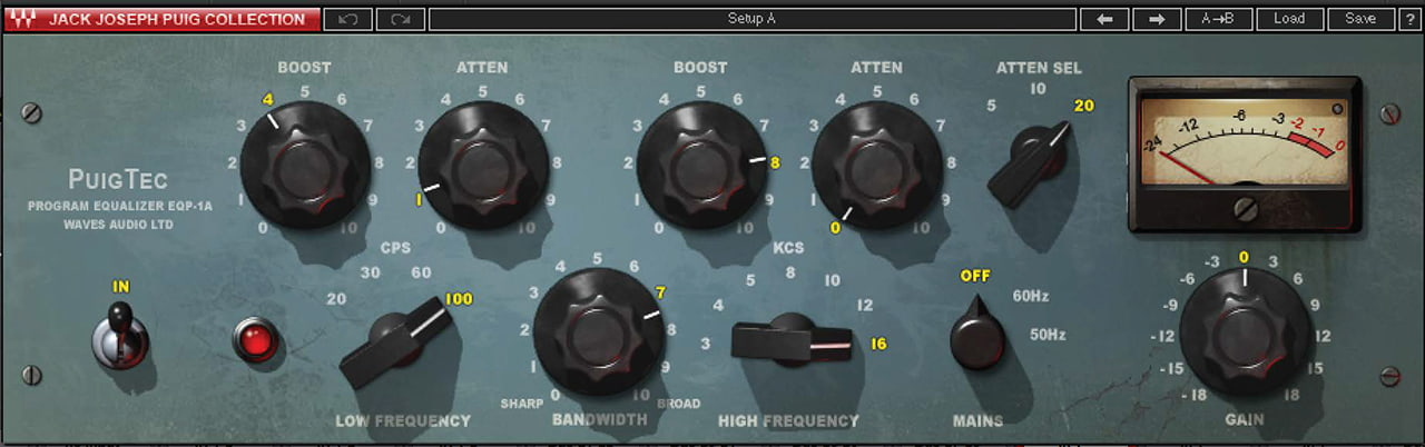 EQP 1A: Classic Vocal EQ