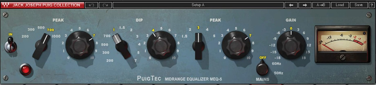 MEQ 5: Classic Vocal EQ