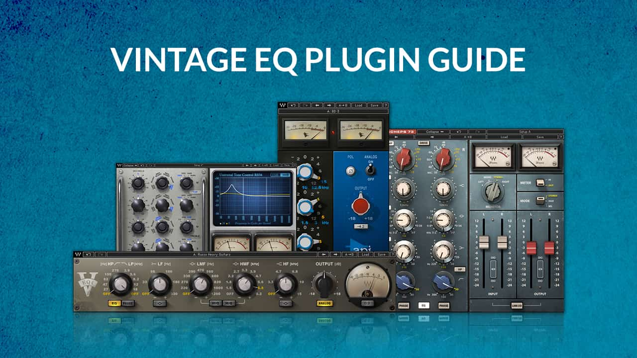 Vintage Eq Plugin Guide Waves 3 Band Dual Graphic Equalizer Amplifier Circuit