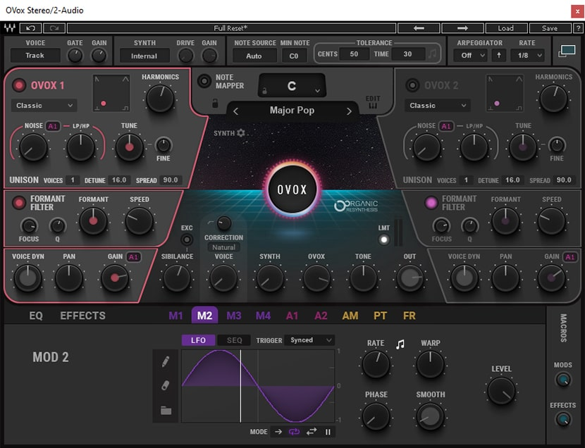 OVox Vocal ReSynthesis