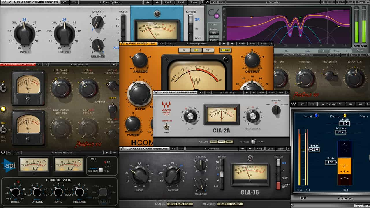 Which Compressor Plugin Should I Choose for My Mix?
