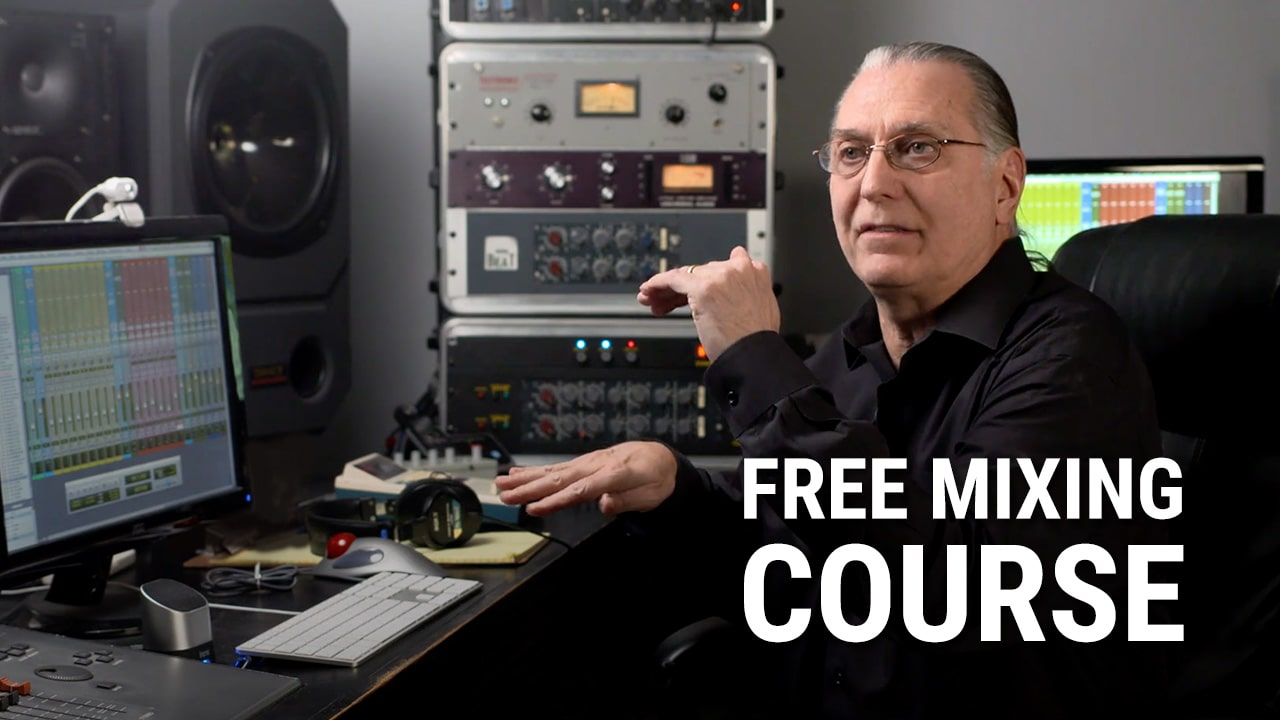 Free Online Mixing Course Announced