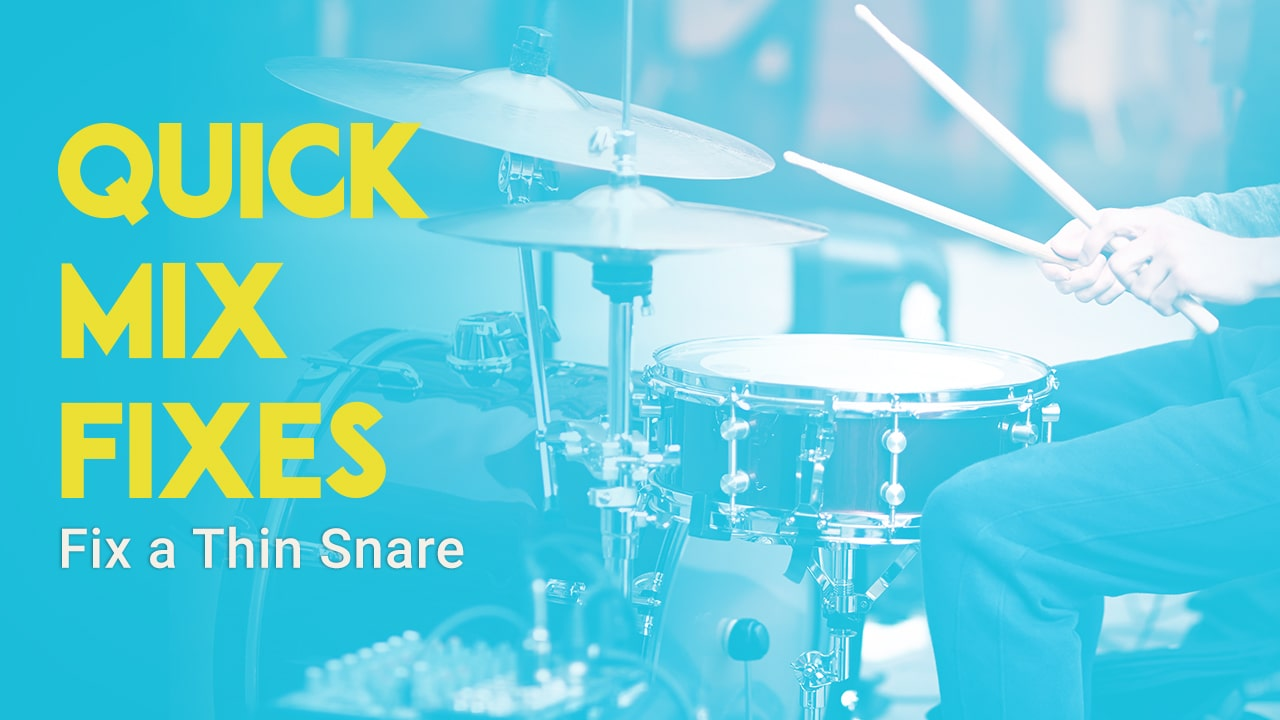 How to Fix a Thin Snare Drum