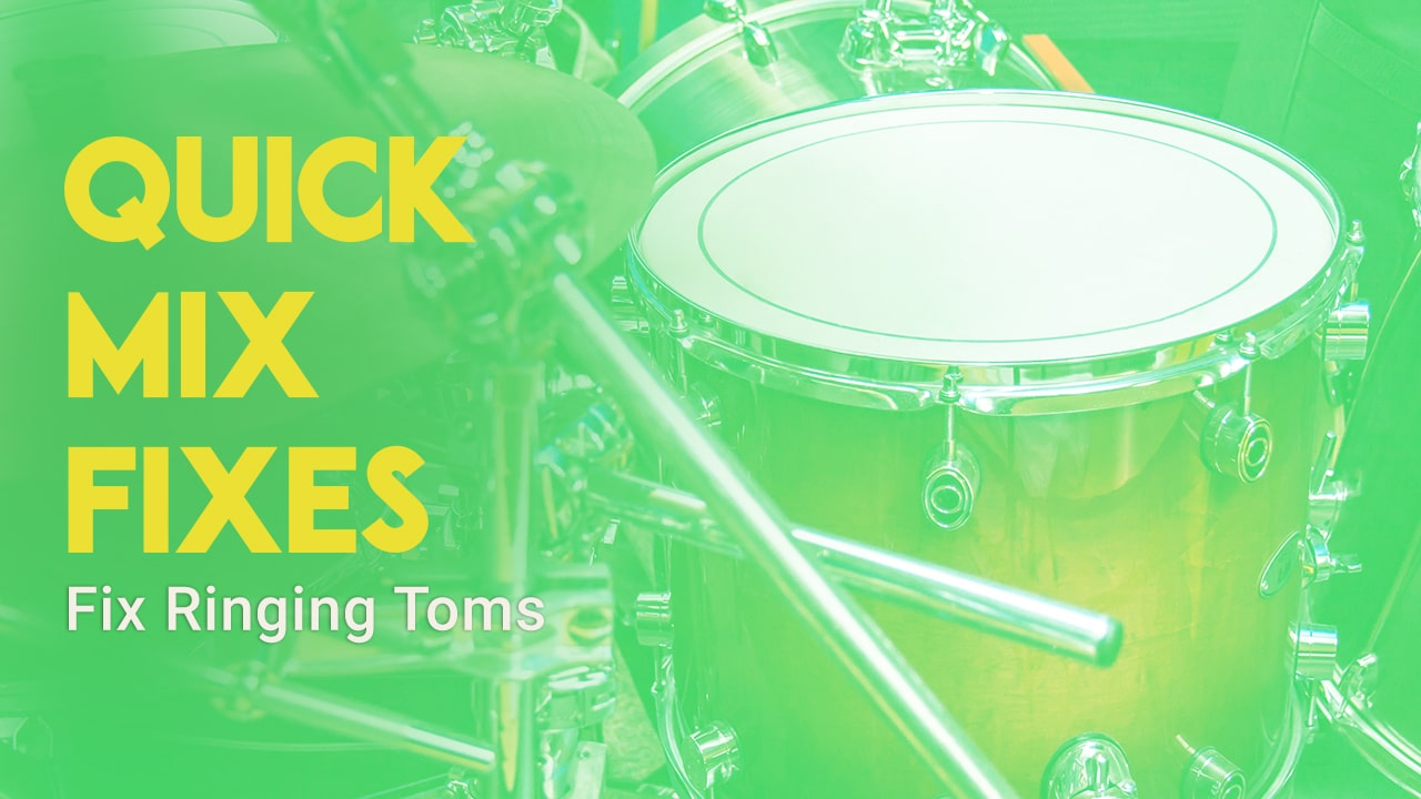 How to Fix Ringing Toms