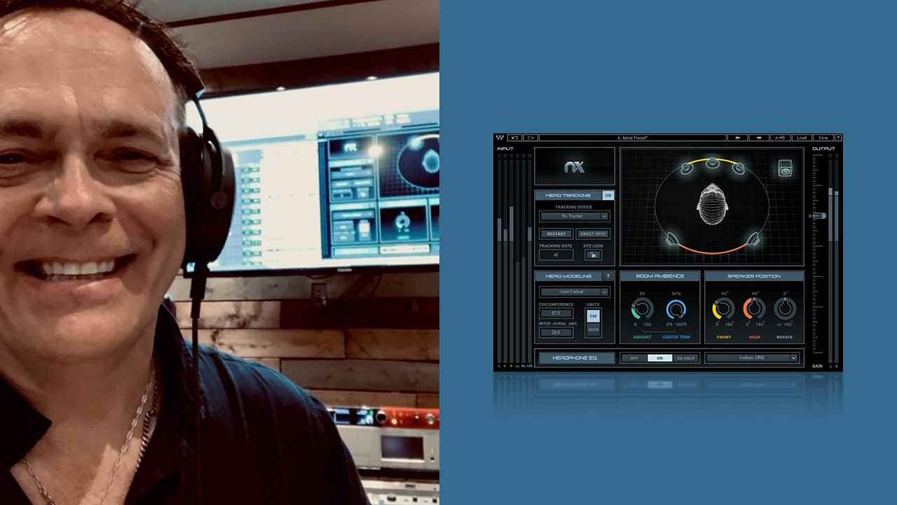 Mixing Rush and Dream Theater with Waves Nx: Richard Chycki