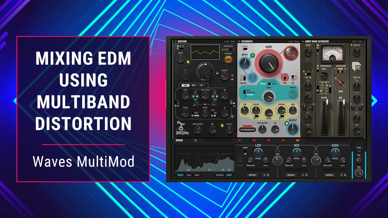 Mixing with Waves MultiMod Rack