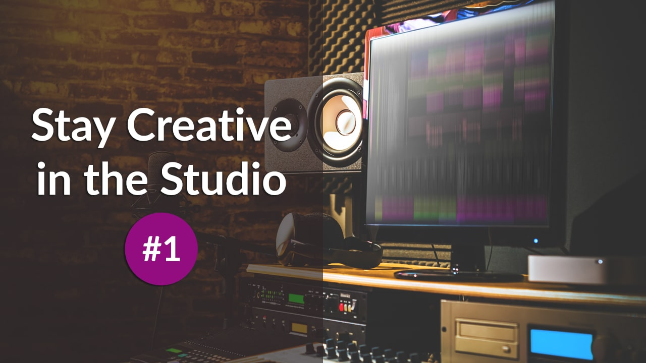 Stay Creative in the Studio #1: Use your gear for unintended tasks