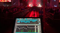 eMotion LV1 Live Mixer on Tour with Lykke Li