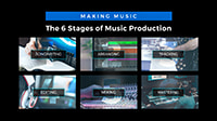 Making Music: The 6 Stages of Music Production