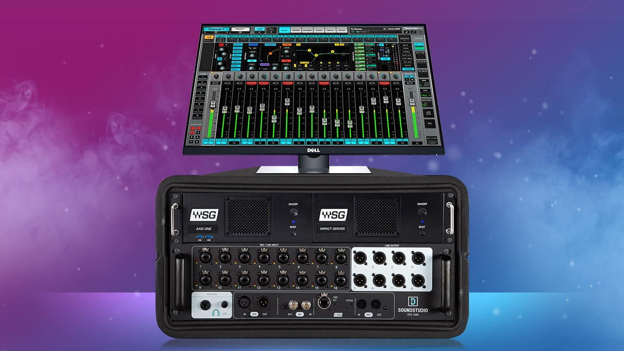New Products: eMotion LV1 Complete Live Mixing System
