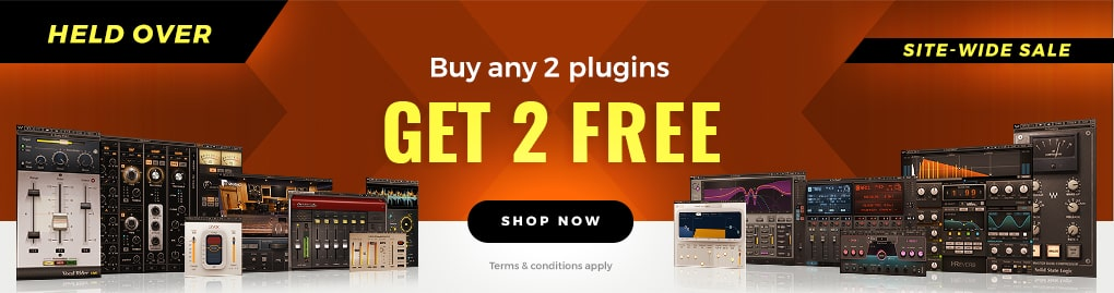 LIMITED TIME: Buy ANY 2 plugins, get 2 FREE