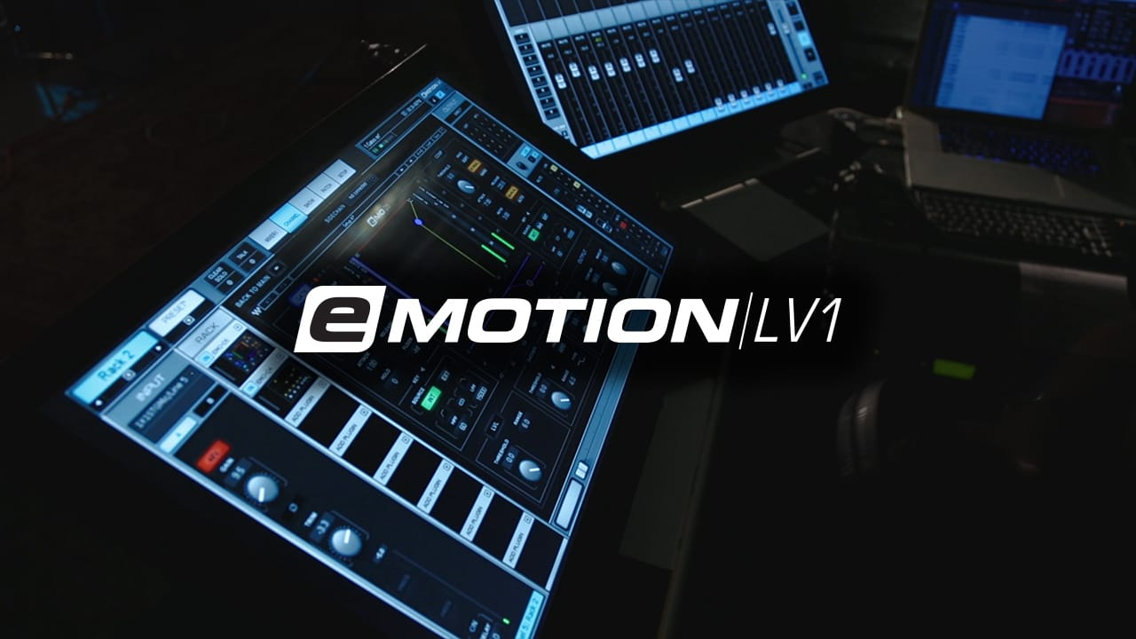 Emotion lv1 live mixer training introduction