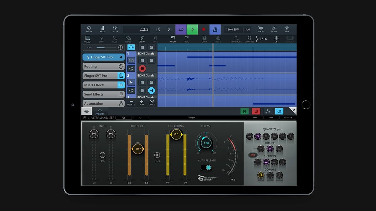 Audio Plugins for iOS | Waves