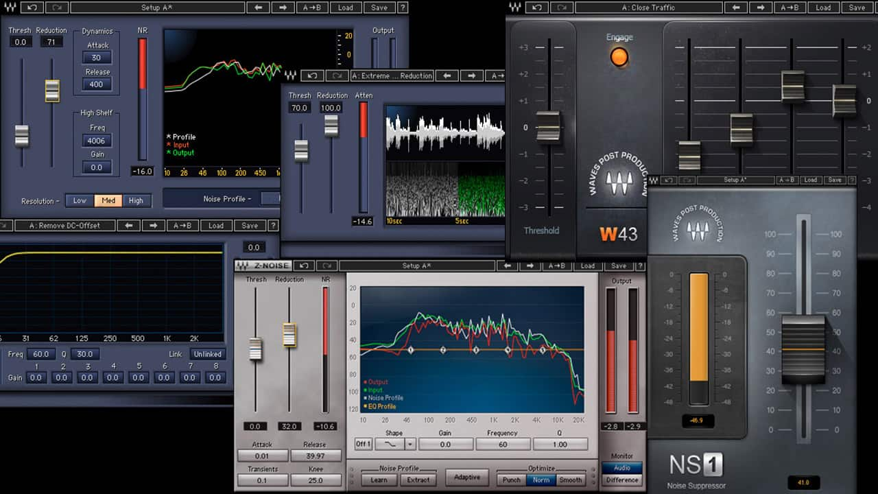 Noise Reduction Plugins | Waves