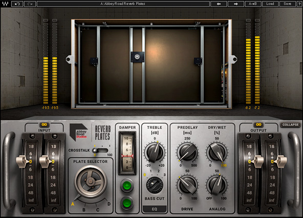 Abbey Road Reverb Plates Plugin Waves