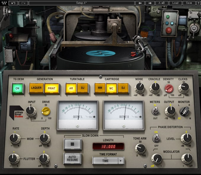 Abbey Road Vinyl Plugin Waves