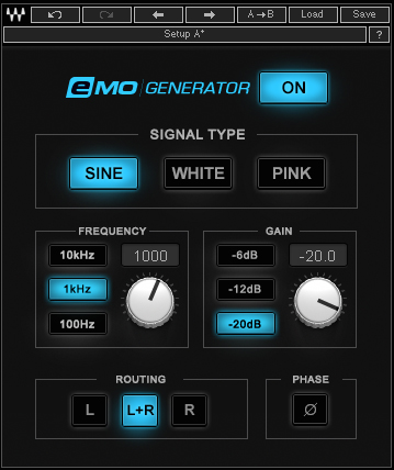 eMo Generator - Noise generators are the unsung heroes of many modern dance productions