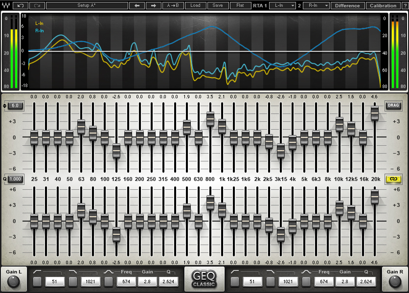 Geq 30 Band Graphic Equalizer Plugin Waves