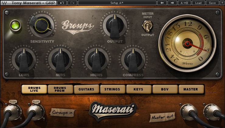 Maserati GRP Group Processor Plugin | Waves