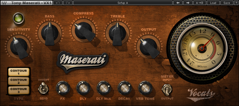 Maserati VX1 Vocal Enhancer Plugin | Waves