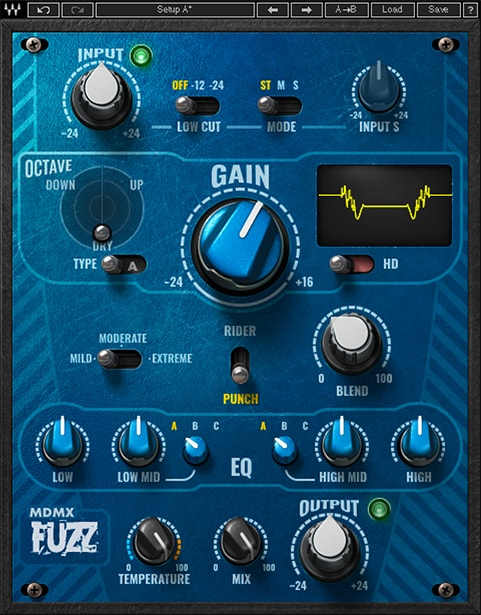 MDMX Distortion Modules Fuzz