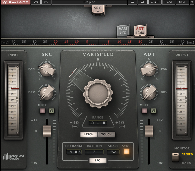 reel adt artificial double tracking plugin waves rh waves com